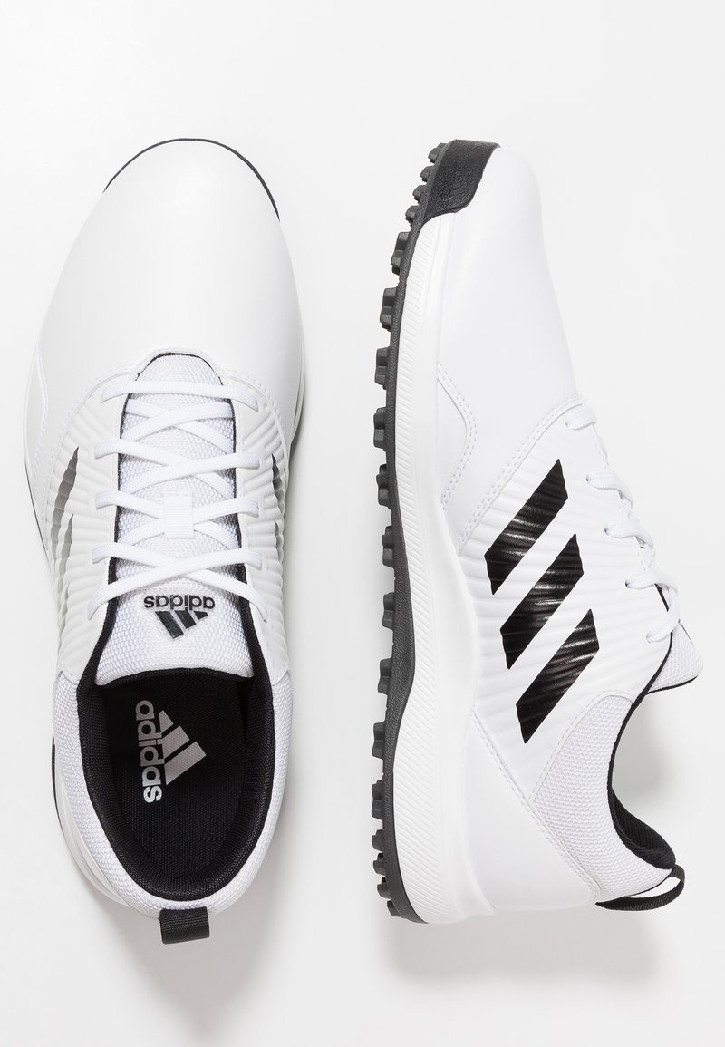 Adidas Golf Traxion Obuwie Do Golfa Footwear White Core Black Grey Six Bialy Zalando Pl