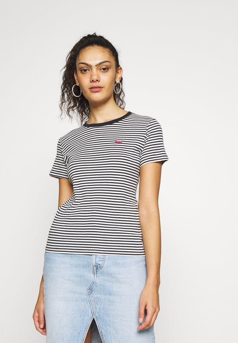 Levi's® - BABY TEE - Print T-shirt - aya stripe caviar
