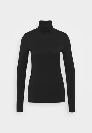 TURTLENECK - Long sleeved top - black dark