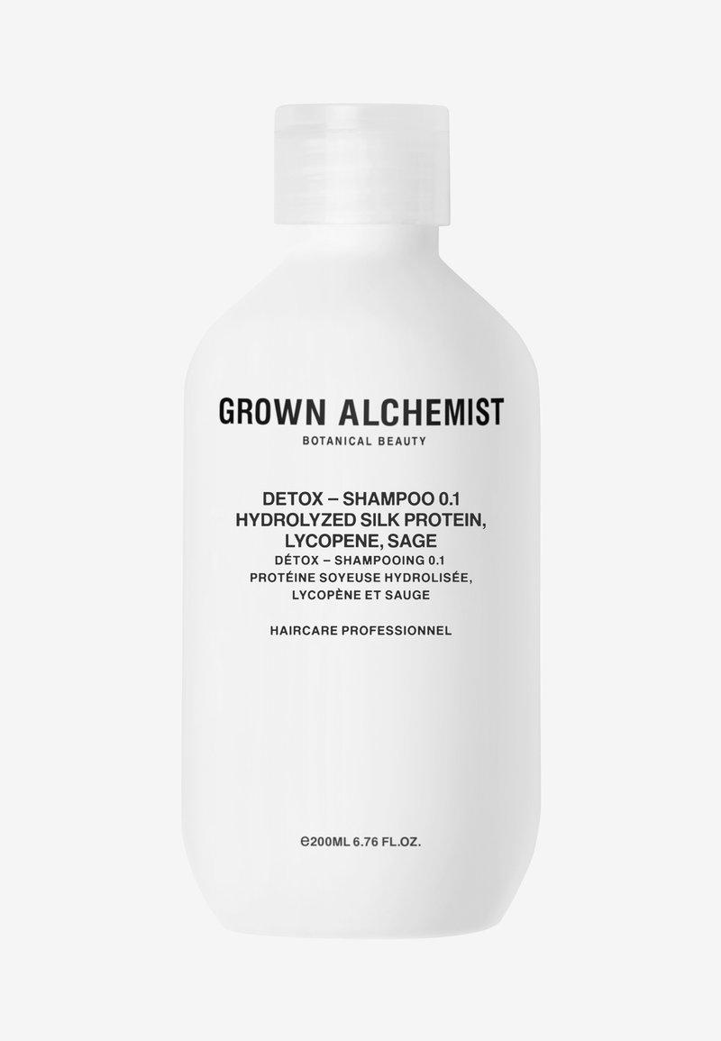 Grown Alchemist - DETOX - SHAMPOO 0.1 HYDROLYZED SILK PROTEIN, LYCOPENE, SAGE - Shampoo - -