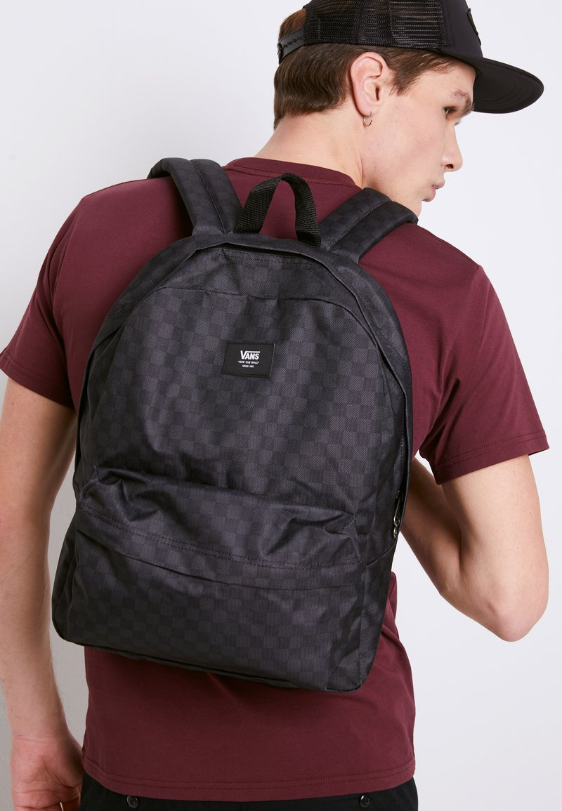 Vans - OLD SKOOL  - Rucksack - black/charcoal