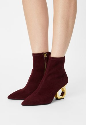 ALISON - Classic ankle boots - fig/gold
