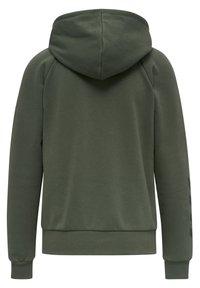 Hummel - HMLNONI  - Zip-up sweatshirt - beetle - 7