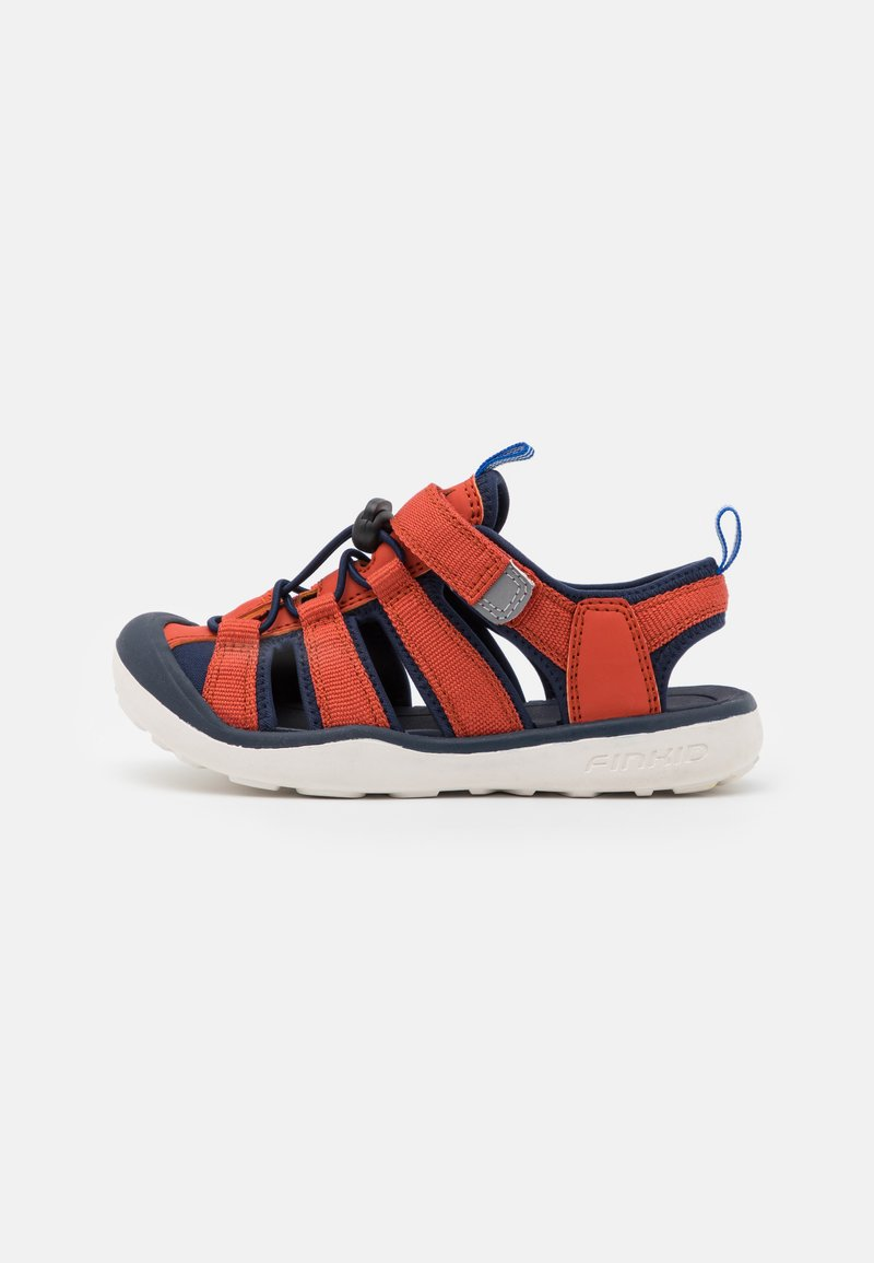 Finkid - PELTO UNISEX - Chodecké sandály - chili/navy