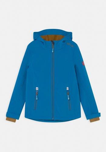TROLLFJORD UNISEX - Softshelljacke - azure blue/bronze