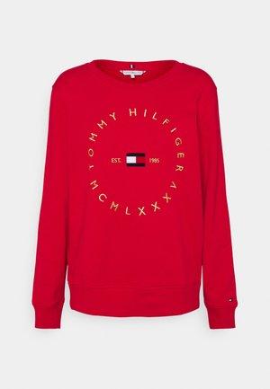 REGULAR CIRCLE  - Sweatshirt - primary red