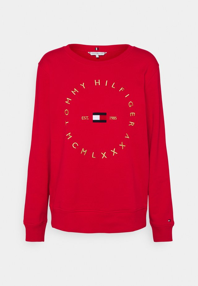 REGULAR CIRCLE  - Sweatshirt - primary red