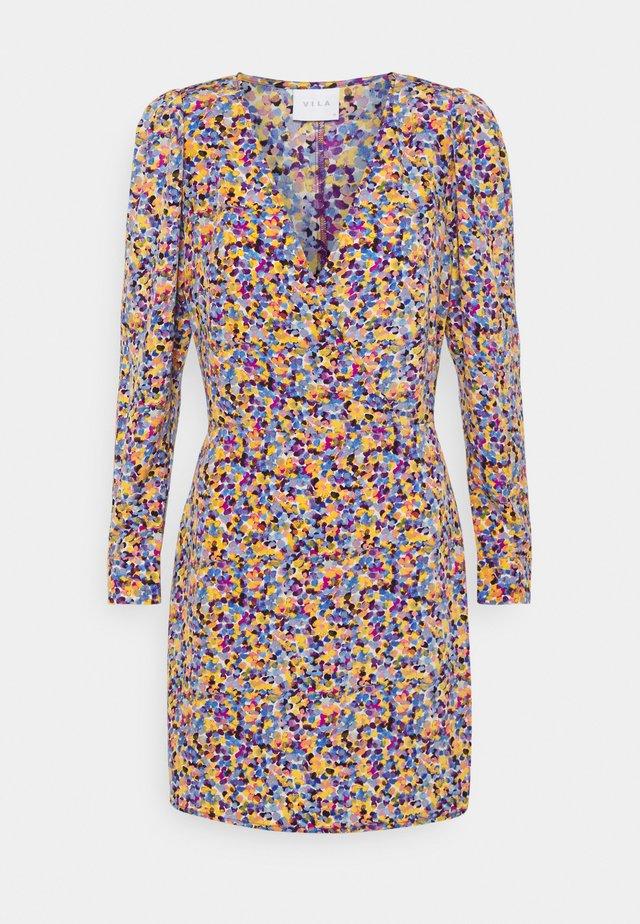 VITERESA V NECK DRESS - Day dress - ashley blue