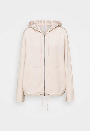 MORENO HOODIE - Zip-up hoodie - silver grey