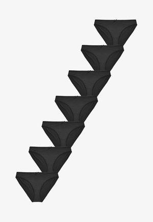 7 PACK - Briefs - black