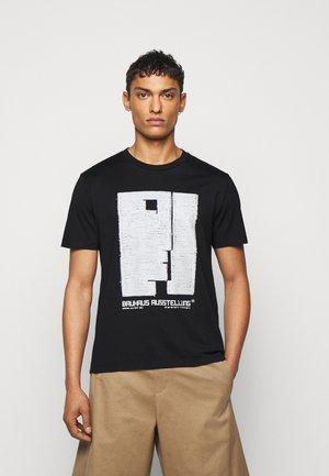 BAUHAUS AUSSTELLUNG - T-shirt imprimé - black/natural