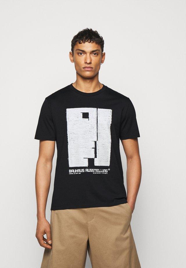 BAUHAUS AUSSTELLUNG - T-shirts med print - black/natural
