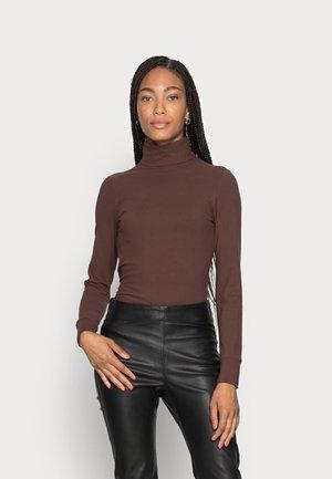 FONDA ROLLNECK - Long sleeved top - coffee brown