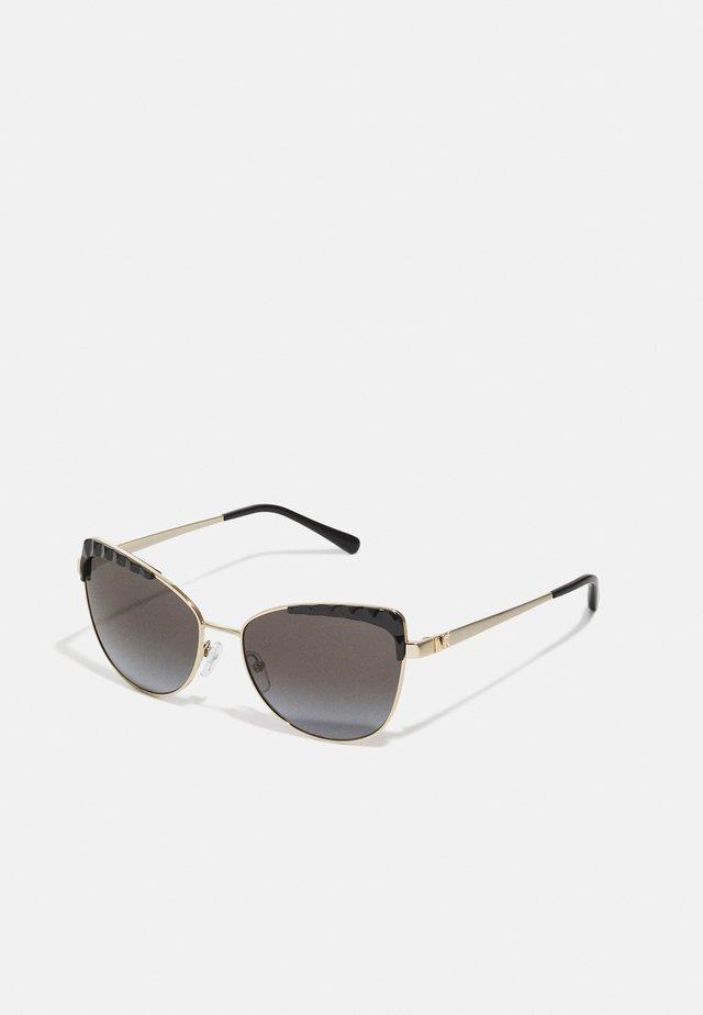 SAN LEONE - Sluneční brýle - light gold-coloured