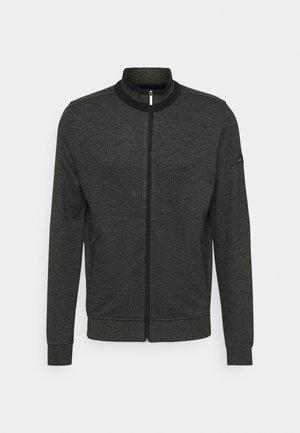 JACKET - Zip-up sweatshirt - anthracite