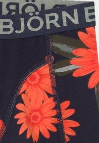 Björn Borg - OVERIZIED FLOWER SAMMY 2 PACK - Pants - night sky - 3