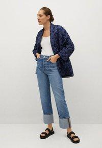 Mango - Winter jacket - bleu marine foncé - 1