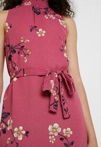 Vero Moda - VMCALLIE SMOCK DRESS - Day dress - rose wine - 6