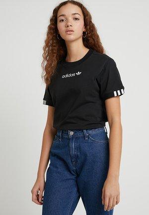 COEEZE - T-shirt imprimé - black