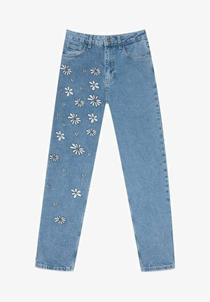 MIT MARGERITEN - Slim fit jeans - light blue