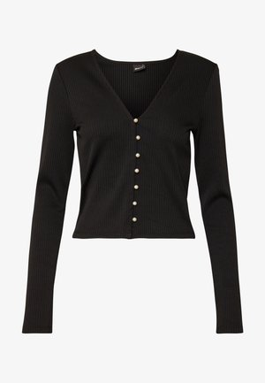 BEATA CARDIGAN - Cardigan - black
