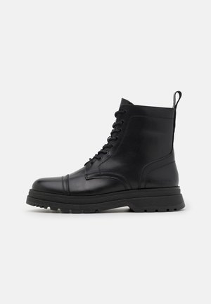 MARTIN  - Lace-up ankle boots - black