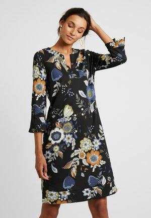LASTINA - Jersey dress - black