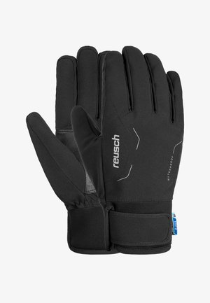 Gloves - black / silver