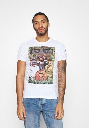 JEEVES - Print T-shirt - optic white/multi-coloured
