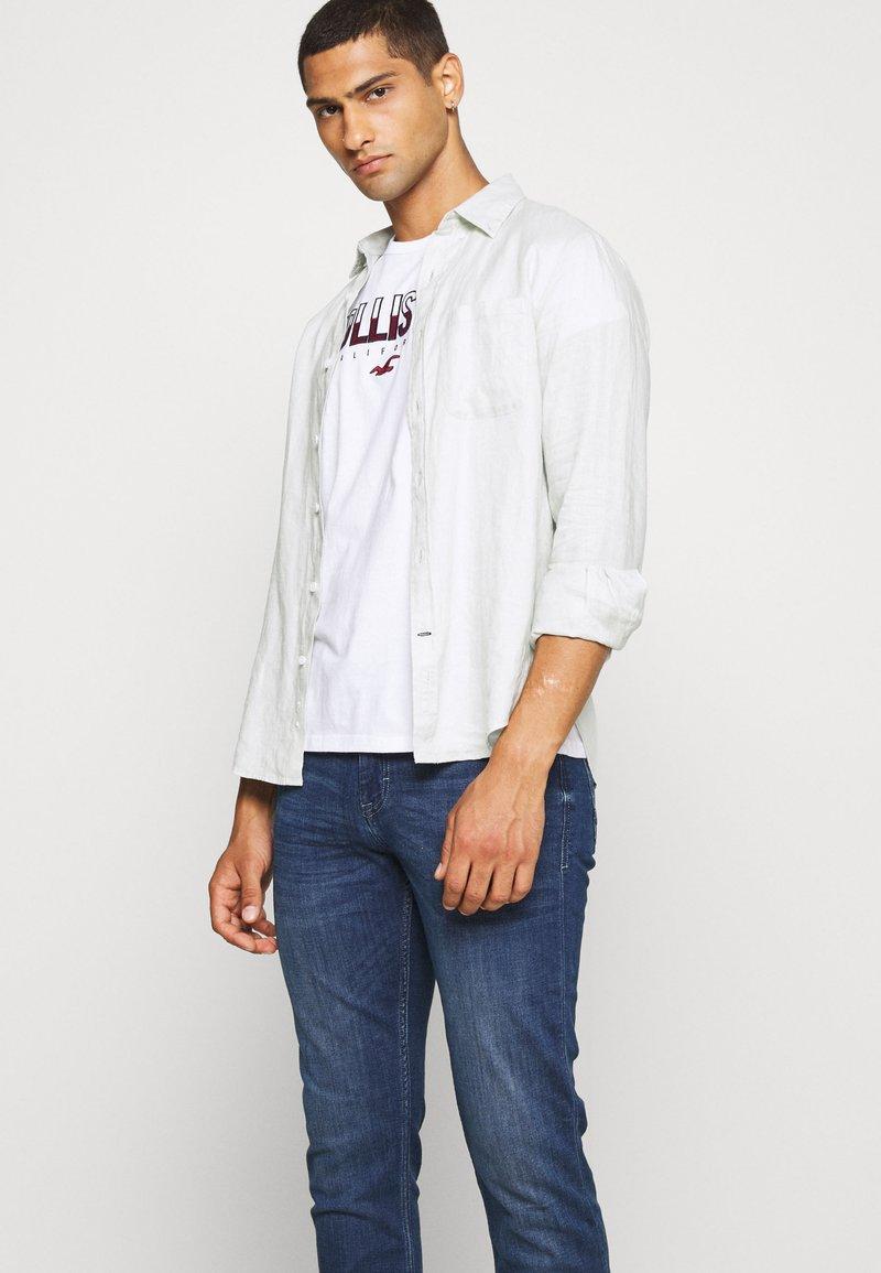 Blend Jeans Slim Fit - denim middle blue/light-blue denim MkG17v