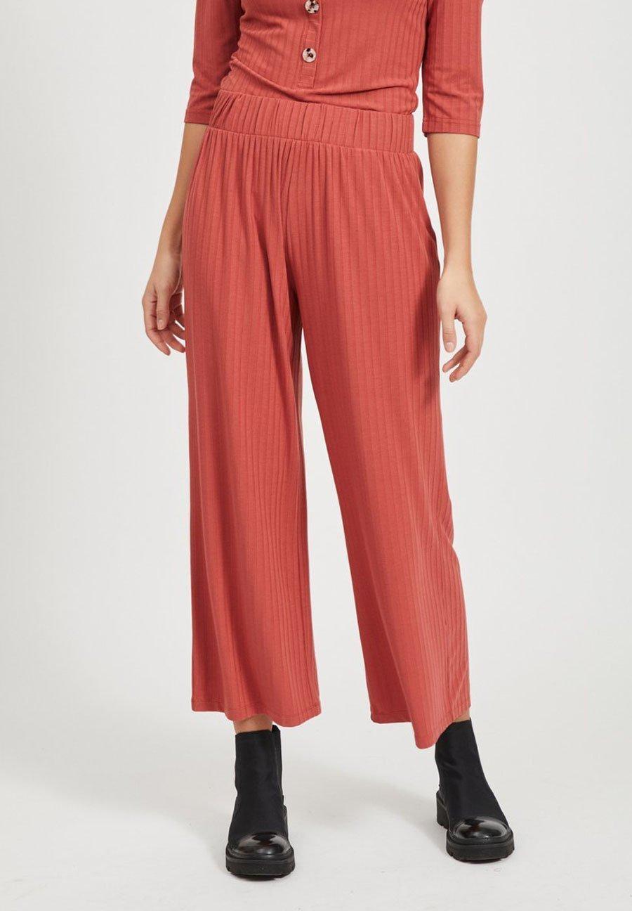 Object HOSE MIT WEITEM BEIN CROPPED - Pantalon classique - tandori spice - Pantalons & Leggings Femme khJhf