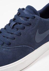 Nike SB - CHECK - Zapatillas - midnight navy/black/summit white - 2