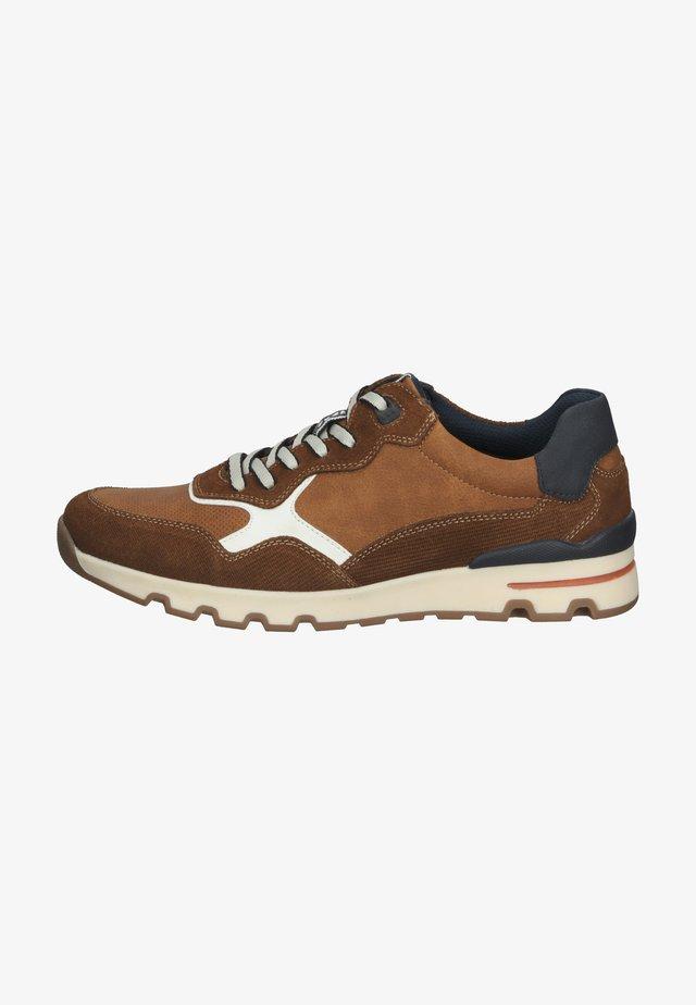 Sneakersy niskie - marron cognac