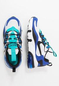 Nike Sportswear - NIKE AIR MAX 270 RT BP - Sneakers basse - white/black/hyper blue/oracle aqua - 0