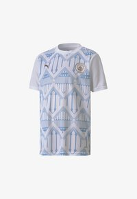 Puma - YOUTH  - Club wear -  white-team light blue - 0
