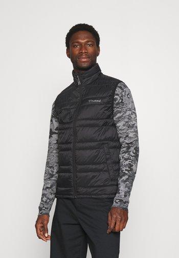 PAX PUFF WAISTCOAT - Waistcoat - black