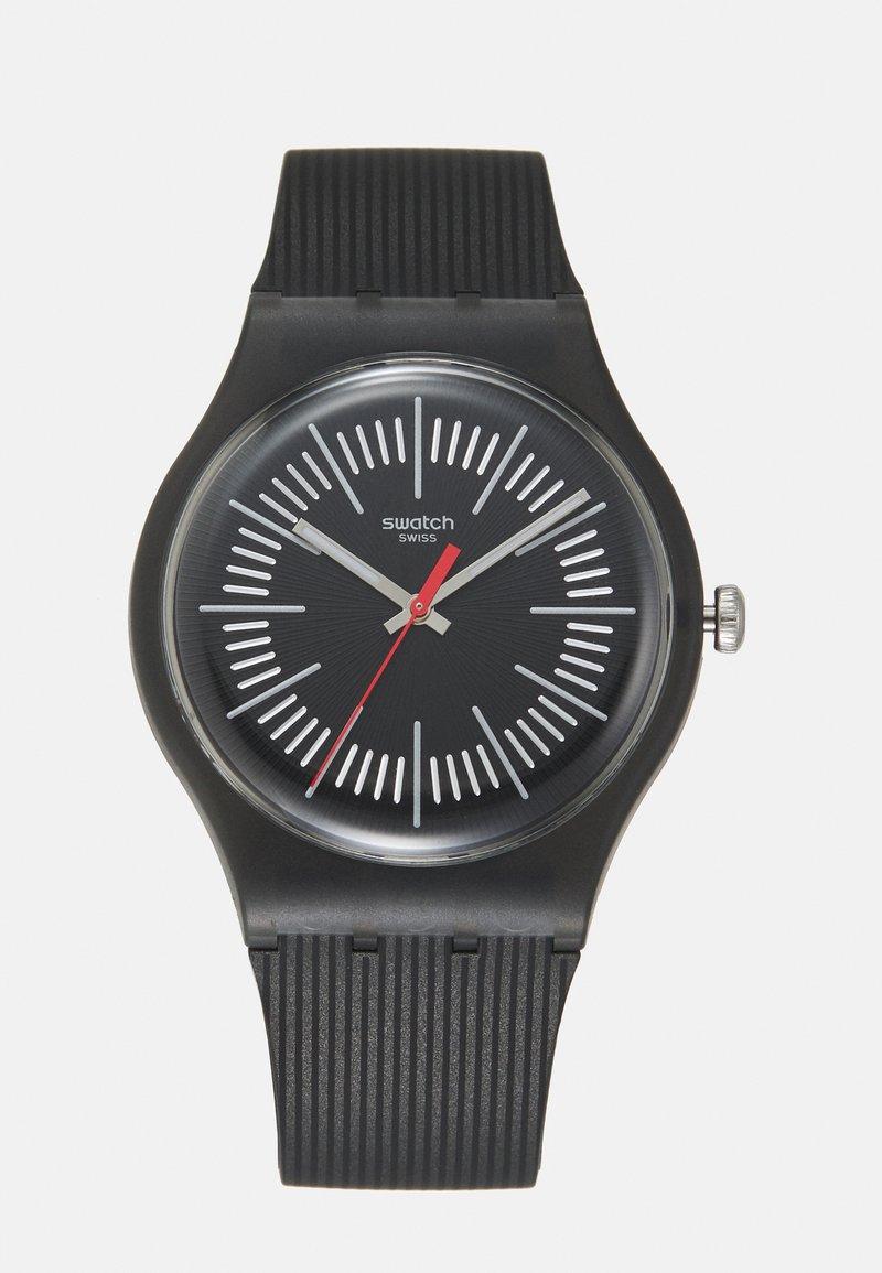 Swatch - INTERCYDERAL - Watch - black