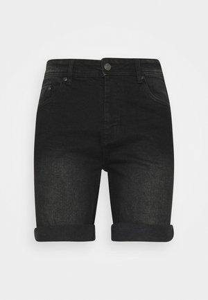 MR ORANGE - Džínové kraťasy - black washed