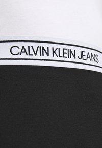 Calvin Klein Jeans - LOGO MILANO MINI SKIRT - Minisukně - black - 4