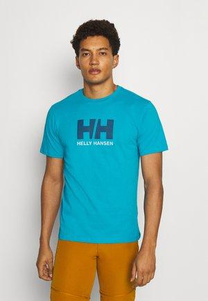 LOGO - Print T-shirt - caribbean sea