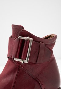 A.S.98 - Cowboy/biker ankle boot - cardinal - 2