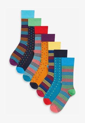 Pack of: 5  - Socks - blue