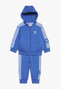 adidas Originals - NEW ICON HOODIE SET - Træningssæt - blue/white - 0