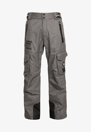 ULTIMATE SNOW RESCUE PANT - Skibroek - black tex rock