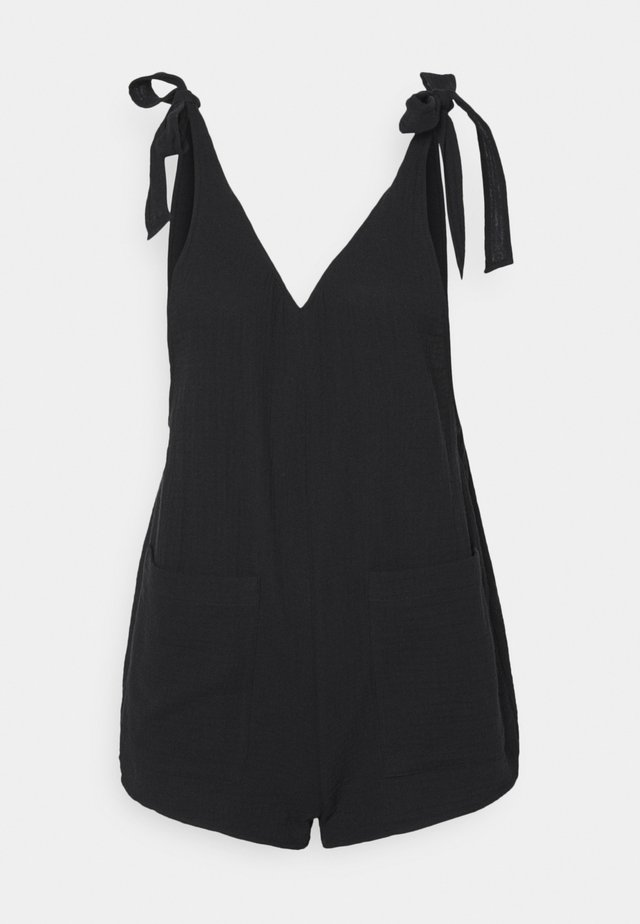 BEACH PLAYSUIT - Jumpsuit - black