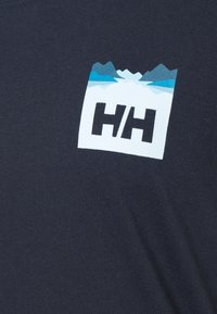 Helly Hansen - NORD GRAPHIC DROP - Print T-shirt - navy - 6