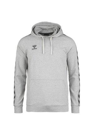HMLMOVE CLASSIC HOODIE - Hoodie - grey melange