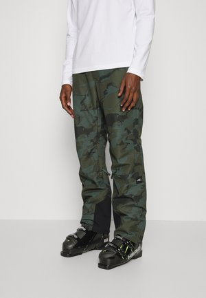 SLATE PANTS - Snow pants - green