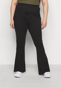 Even&Odd Curvy - Trousers - black - 0