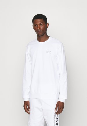Sweatshirt - white/silver-coloured